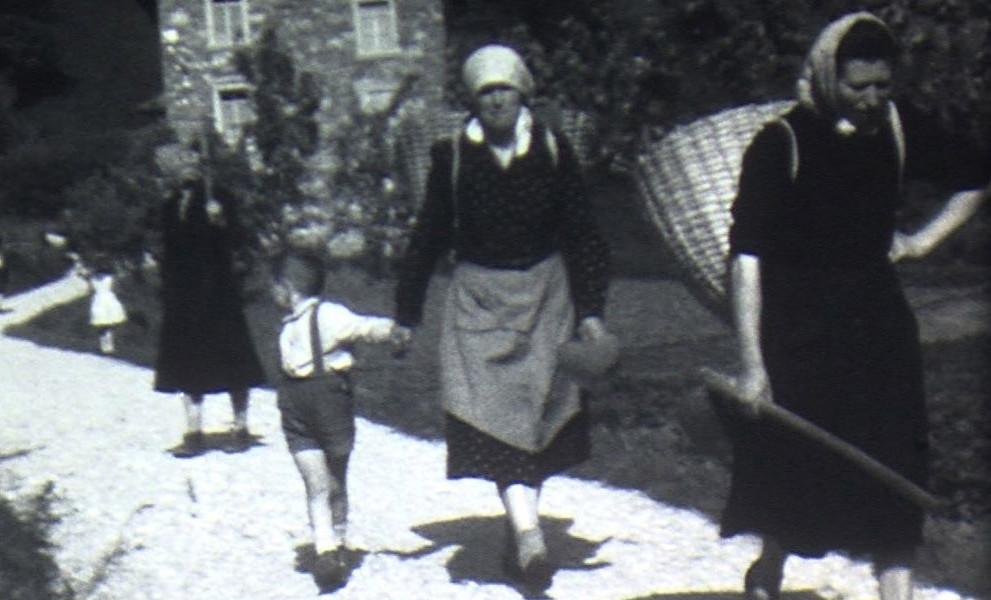 Filmato inedito di Forni di Sopra